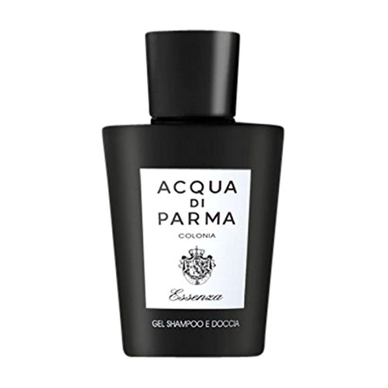一方、赤面財布アクアディパルマコロニアEssenza髪とシャワージェル200ミリリットル (Acqua di Parma) (x6) - Acqua di Parma Colonia Essenza Hair and Shower Gel 200ml (Pack of 6) [並行輸入品]