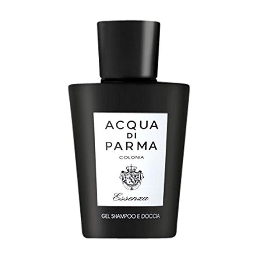 農業ロゴ微視的アクアディパルマコロニアEssenza髪とシャワージェル200ミリリットル (Acqua di Parma) (x2) - Acqua di Parma Colonia Essenza Hair and Shower Gel 200ml (Pack of 2) [並行輸入品]