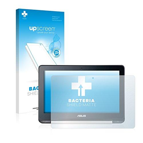 upscreen Protector de Pantalla Mate Compatible con ASUS Transformer Book Flip TP200 Película Protectora Antibacteriana - Anti-Reflejos, Anti-Huella