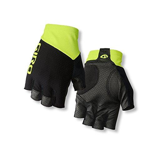 Giro Zero CS Fahrradhandschuh gelb/schwarz Größe S 7,0-7,5 2018 Vollfinger-Handschuhe