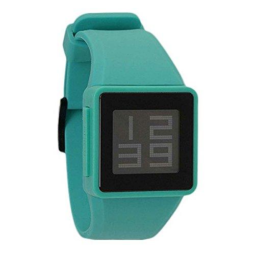 Nixon A137-2060 - Reloj, Correa de Silicona Color Azul