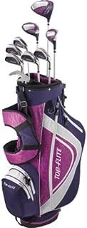 Complete Golf Club Set Womens 2018 Pink/Purple XL w/6-Way Stand Bag Ladies Flex RH - Graphite - Print