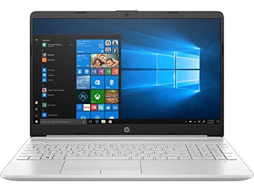 HP 15s-du00096tu 15.6-inch Laptop (8th Gen i5-8265U/8GB/1TB HDD + 256GB SSD/Windows 10 Home/2.04 kg), Natural Silver
