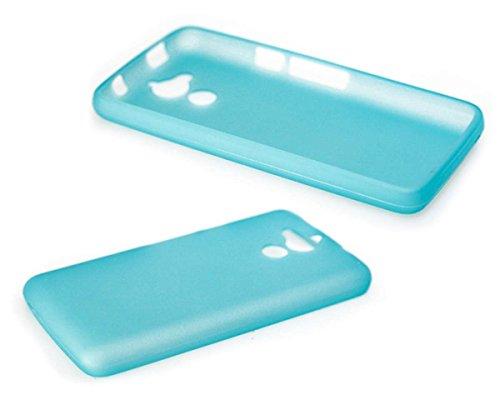 caseroxx TPU-Hülle für Acer Liquid Z410, Handy Hülle Tasche (TPU-Hülle in hellblau)