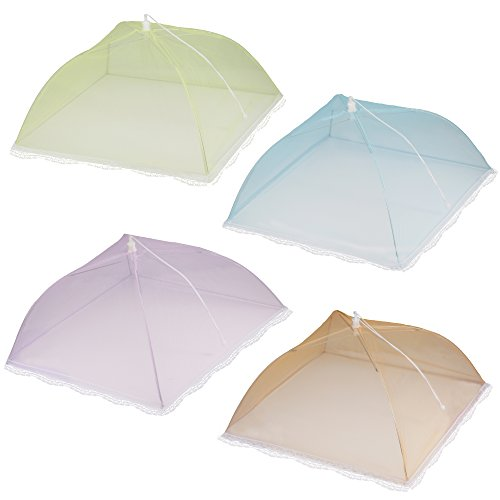 IPOW Pop Up Mesh Screen Food Cover Tent