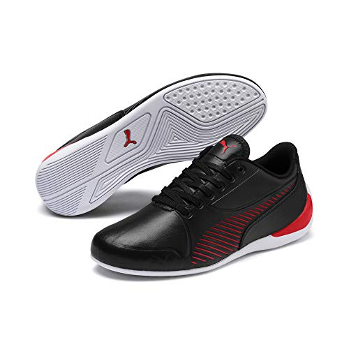 PUMA Ferrari Drift Cat 7S Ultra Youth Sneaker Puma Black-Rosso Corsa UK 4_Youth_FR 37