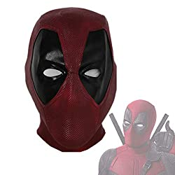 small xcoser DP Wade Mask Deluxe Latex Cosplay Full Face Helmet for Adult Teens