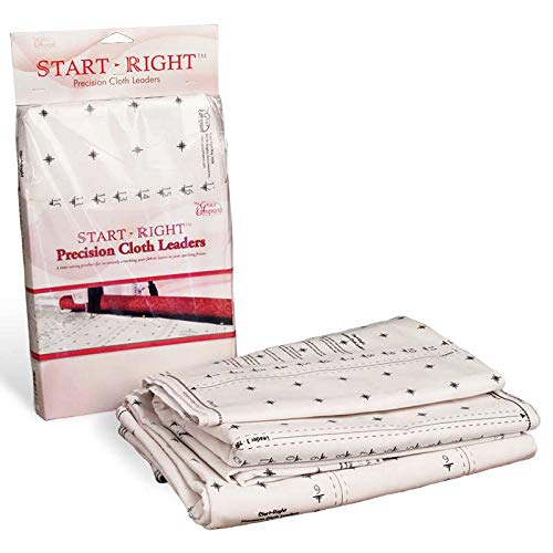 Grace Start Right 112 Inch Cloth Leaders for Machine or Hand Quilting Frames