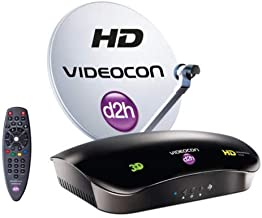 d2h Videocon HD Set Top Box with 1 Month Free Gold Pack
