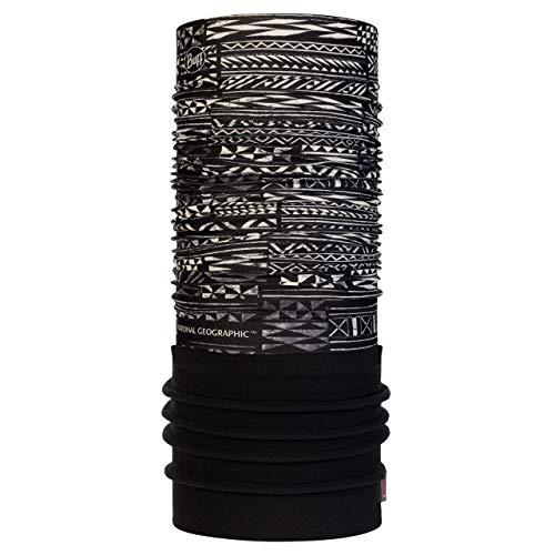 Buff Zendai Tour de Cou Polaire National Geographic Noir FR : Taille Unique (Taille Fabricant : Taille One sizeque)