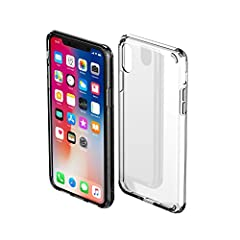 🍀Nicely fit and Specially Designed Case for iPhone X. 🍀 A hard PC back plate that protects against scrapes. 🍀On the back of the four corners were added about 1mm soft TPU, offer full protection all around the device. 🍀Easy access to all buttons, Allo...