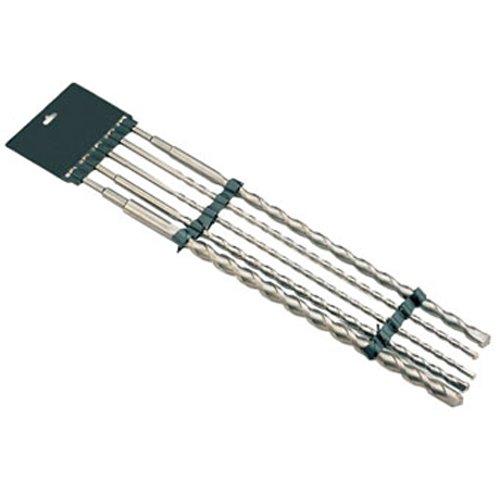 5 x SDS PLUS Hammer-Bohrersatz Steinbohrer Beton Mauer Stein 10-25 mm 600 mm
