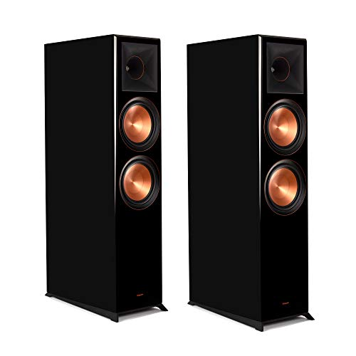 Klipsch Reference Premiere RP-8060FA Floorstanding, Dolby Atmos Speakers (Piano Black Pair)