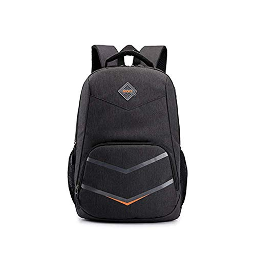 WLP-WF Backpack Leisure Fashion Rucksack Outdoor Men Women Sports School College Student USB Waterproof Luggage Bag Lightweight,Brown,30L,Black