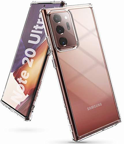 """Ringke Fusion Diseñado para Funda Samsung Galaxy Note 20 Ultra, Transparente Carcasa Galaxy Note 20 Ultra, Prevención de Golpes PC + TPU Parachoque Funda para Galaxy Note 20 Ultra (6.9"""") - Clear"""
