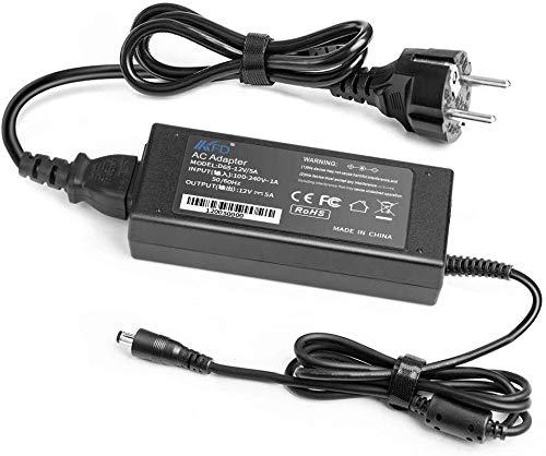 KFD 60W Adapter Ladegerät Netzteil 12V 5A für Synology DiskStation DS212 DS214 DS213 DS213j DS115J DS216+II DS212j NAS Server DS213+ DS213AIR NAS 2-Bay, PC Konfigurator 2 J4005 J4105 J5005 Kein 4-Pin