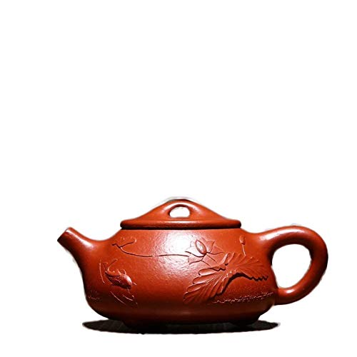 CHUNSHENN Electronic Multimeter Yixing Handmade Sand Teapot Portable Home Office Tea Maker Sand Pot (Color : Zhu Mu) Kitchen Teapots