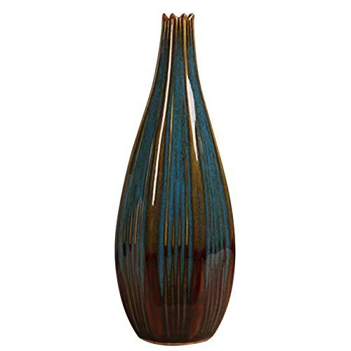 Linka Jarrón de cerámica para el hogar, Colorido, Artesanal, Maceta, decoración Creativa de Escritorio, Adornos de jardín, decoración de Ornamnet para el hogar