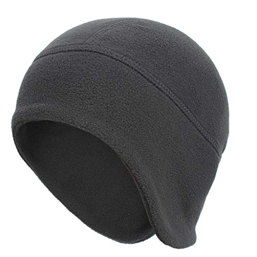 Fineday Unisex Skiing Fashion Keep Warm Winter Hats Knitted Cotton Hat, Hat, Clothing Shoes & Accessories (Dark Gray)