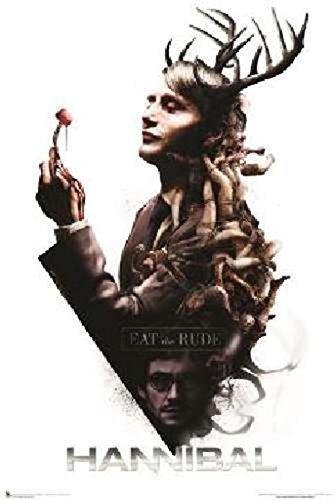 Hannibal - Eat The Rude Poster Drucken (60,96 x 91,44 cm)