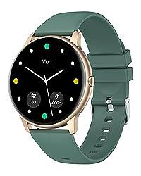 YAMAY Smartwatch Uomo Donna Orologio Fitness Cardiofrequenzimetro da Polso Smart Watch Activity Tracker Contapassi Conta Calorie Cronometro Centinaia di Quadranti Impermeabile IP68 per iOS Android