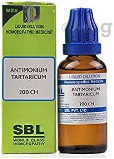 SBL Antimonium Tartaricum Dilution 200 CH