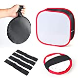 Softbox Diffuser for Video Light Collapsible LED Light Panel Softbox...