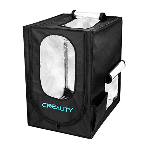 Creality Mini 3D Printer Enclosure, 48 * 60 * 72CM Fireproof Dustproof 3D Printer Tent Protective Cover with Constant Temperature, for Ender 3 / Ender 3 pro/CP-01 / Ender 2 / CR-100