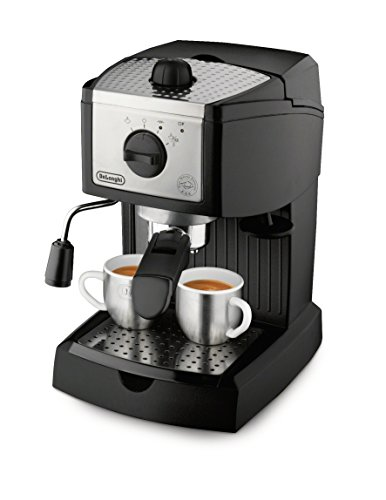 De'Longhi EC155 15 Bar Pump Espresso and Cappuccino Maker,Black