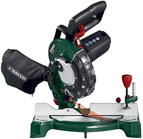 PARKSIDE Kapp- und Gehrungssäge PKS 1500 (1500W, Laser, Sägeblatt Ø 210 mm, 48 Zähne, Schnittlänge 120 mm)