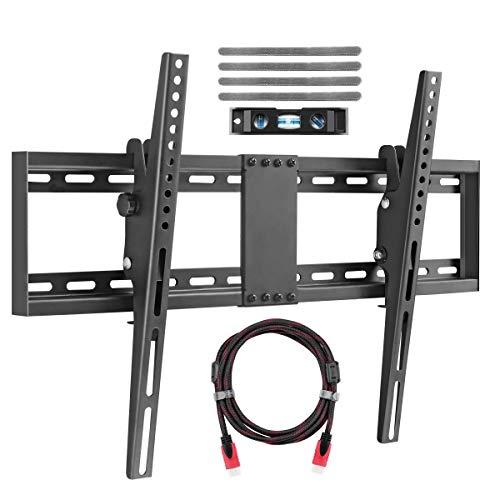 """Soporte De Pared para TV para La Mayoría De 32-70"""" Plasma Flat TV Capacidad De Carga 60kg 15 Incluye Cable HDMI Y Nivel De Burbuja Suptek MT5074"""