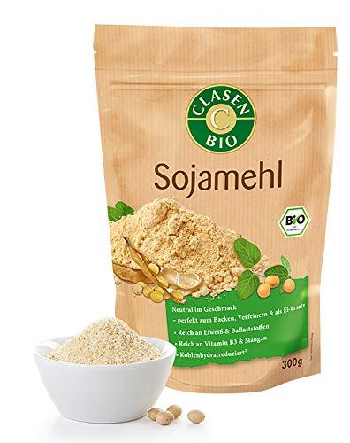 CLASEN BIO Sojamehl, fein gemahlen, vegan - 300 g