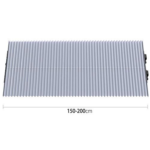 Auto-onderdelen Voorzijde Car Zonnescherm Voorruit Universele Retractable Curtain Houdt Vehicle Cool UV Ray Protector Zonnescherm (Color : 02Sliver, Size : 70cm)