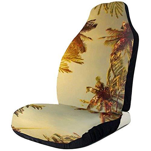Fall Ing Behang voor autobehang, tropical gele autostoelovertrek, autostoelovertrekken, stoelhoezen, stoelhoezen, stoelhoezen, stoelhoezen, voor de meeste auto's