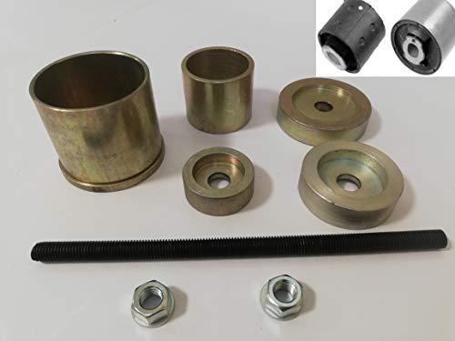 DR TOOLS für BMW Serie 1 und 3 E46 E90 E91 E81 E82 E88 X1E84 X3 E83 Z4 E85 E86 Hinterradaufhängung Differential Diff Bush Entferner Installation Werkzeug