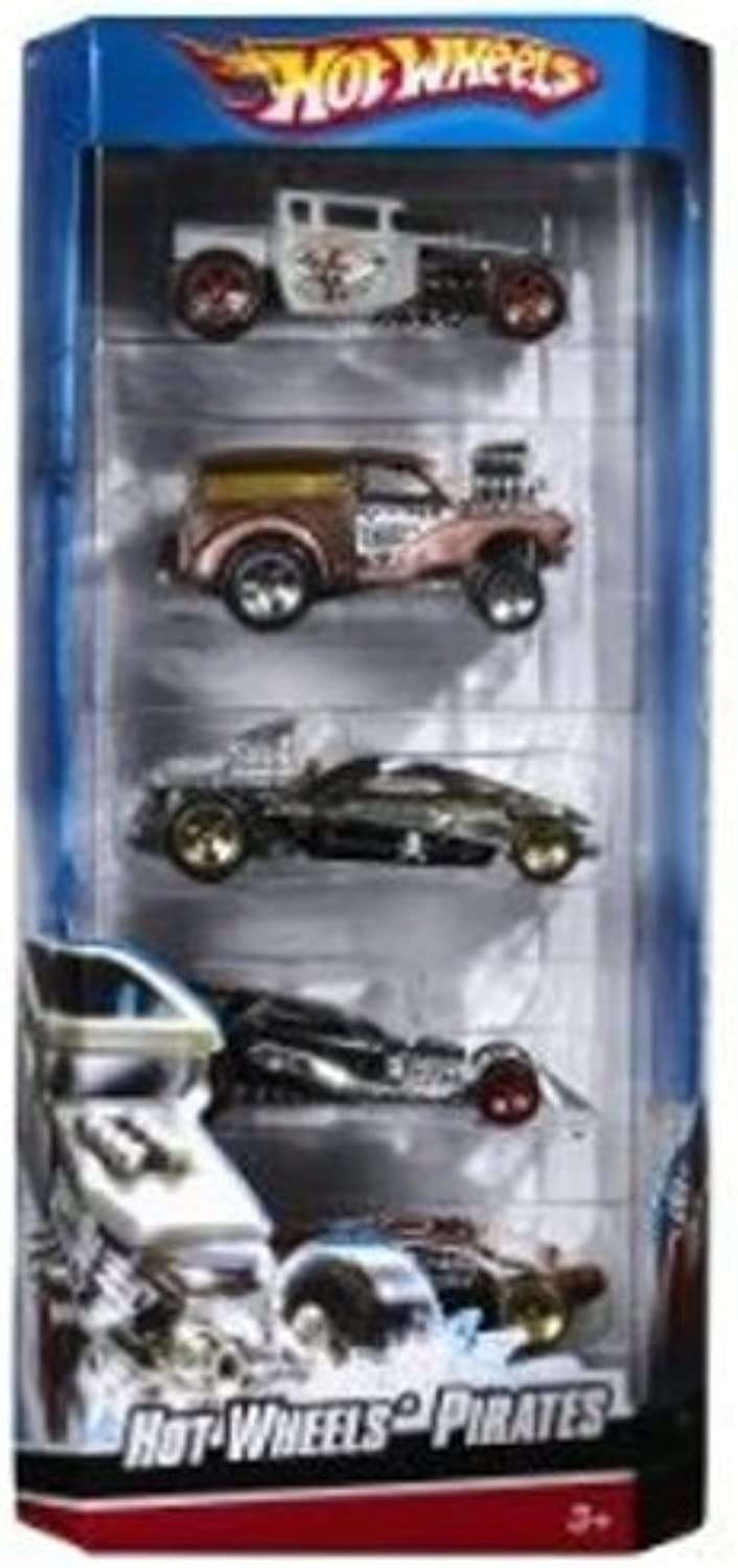Hot Wheels 5 Car Gift Pack  Hot Wheels Pirates by Hot Wheels