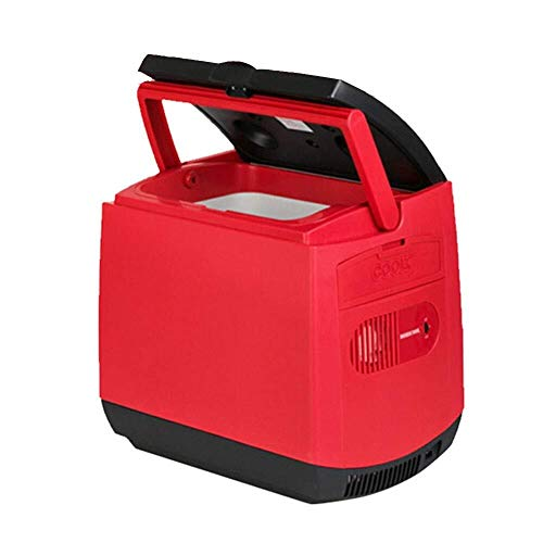 ZHENYUE Car ini frige Cooler EIN warer Teroelectric Tragbare Copact ini Kühlschrank 12v c for Outoor Reise -re 25L (Color : Red, Size : 25L)