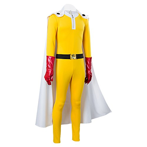 One-Punch Man Saitama Jumpsuits Cosplay Kostüm Herren XXXL
