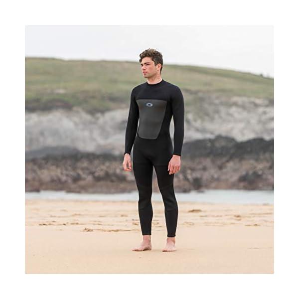 Osprey Mens Full Length 3 mm Summer Wetsuit, Adult Neoprene Surfing Diving Wetsuit, Origin, Multiple Colours