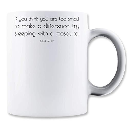 RaMedia Dalai Lama te klein om een verschil te maken slaap met klassieke thee koffiemok