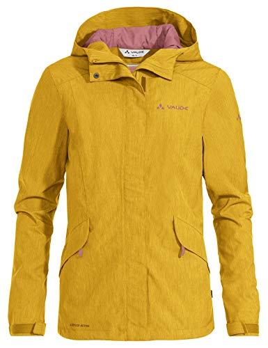VAUDE Damen Jacke Women's Rosemoor Jacket, Marigold, 40, 41462, gelb (Marigold)