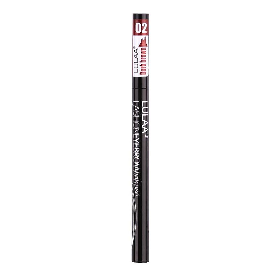 奨励予防接種するタイヤ着色すること容易な咲かない永続的な液体の眉毛の鉛筆