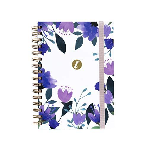 Cuaderno T-Notes Lilla- A5- Interior Rayas- Takenote Agendas- Wireo (morado) (242-5)
