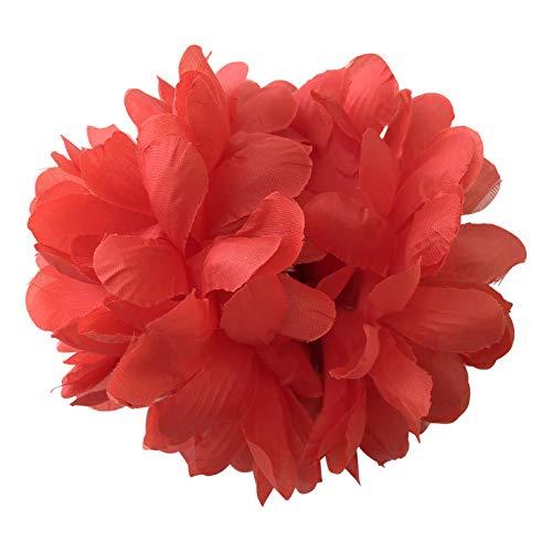 La Señorita Flores Flamenco Rojo Vestido Español