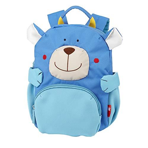sigikid, Jungen und Mädchen, Mini Rucksack, Motiv Bär, Blau, 24918
