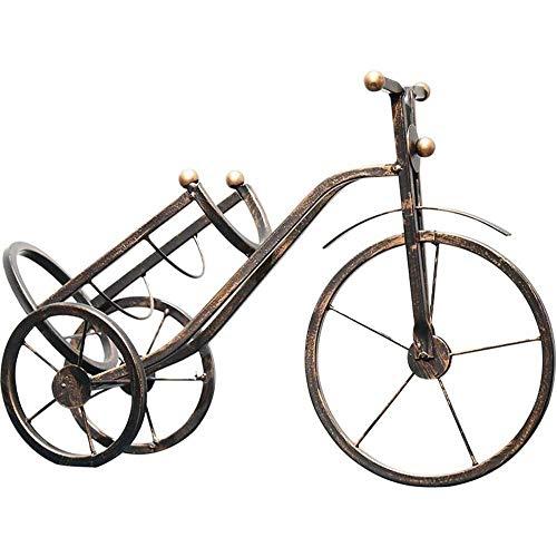 Accesorios Para El Hogar Nueva Bicicleta Retro Estante Para Vino Estatua Soporte Para Botella De Vino Resina Escultura Creativa Adornos Soporte Para Vino Tinto Accesorios Decoración Para El Hogar Reg