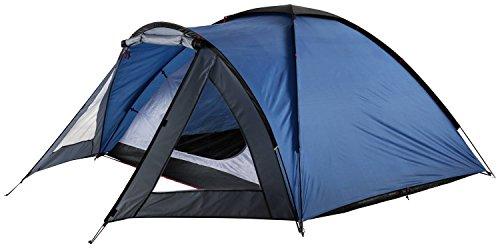 McKinley Kalari 3 Campingzelt (Farbe: 900 blau/anthrazit/dunkelgrau)