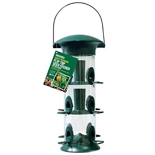 Gardman Premium Vogelfutterstation Wild Bird mit Deckel
