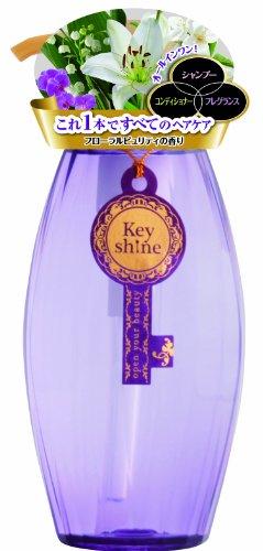キーシャイン オールインワンヘアシャンプーFL(フローラル調の香り) 400mL