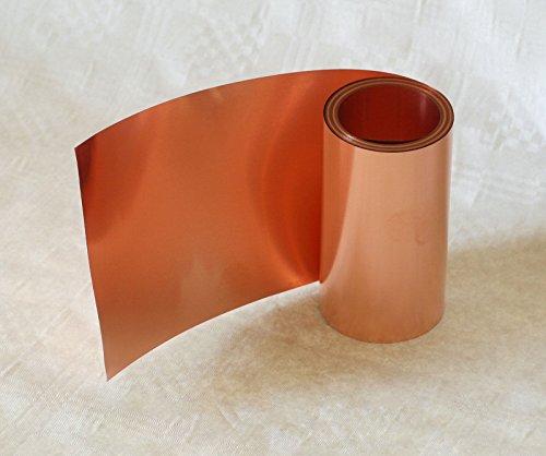 Kupferband, 0,1 x 150 mm, 2,5 m Rolle